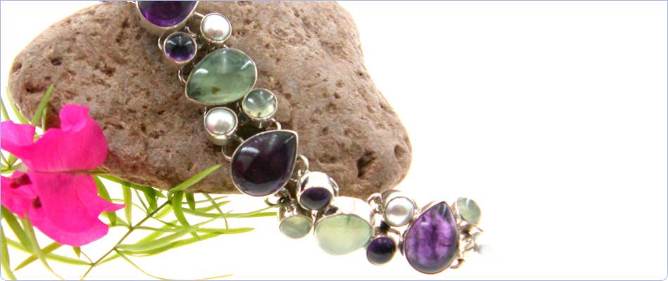Wholesale silver bracelets from Marjo