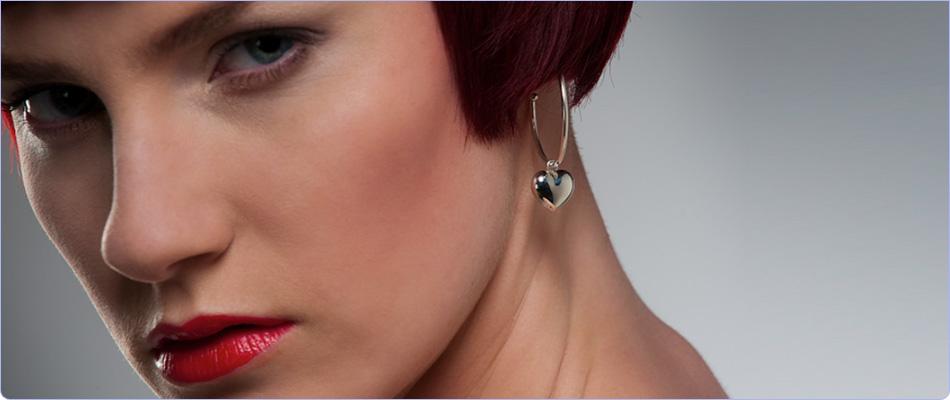 Wholesale silver earrings from Marjo