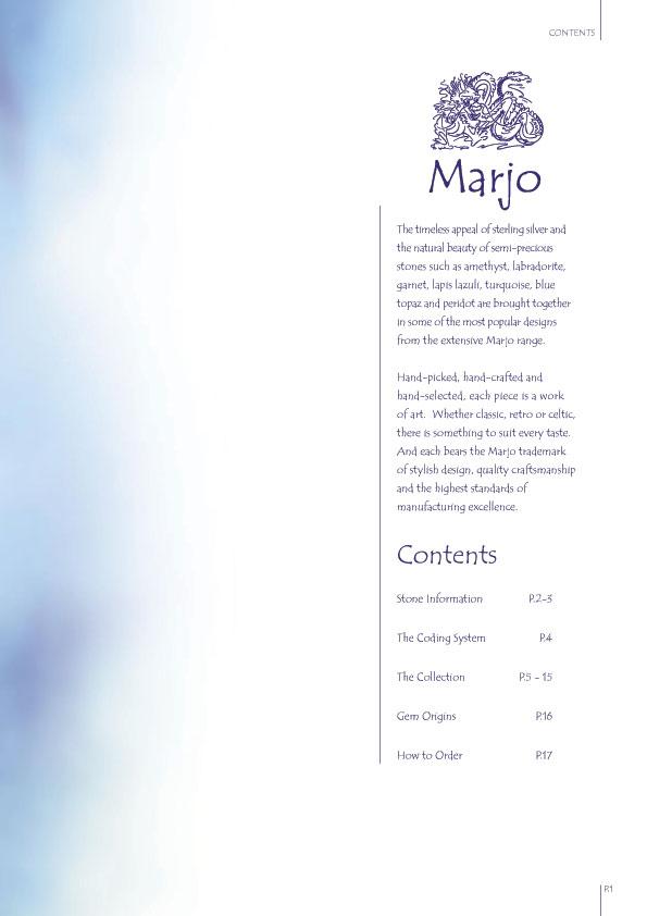 Marjo Brochure Page Two